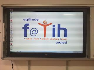 Fatih Projesi Akıllı Tahta