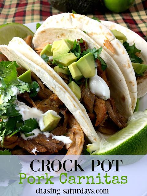 how to cook pork carnitas in crock pot