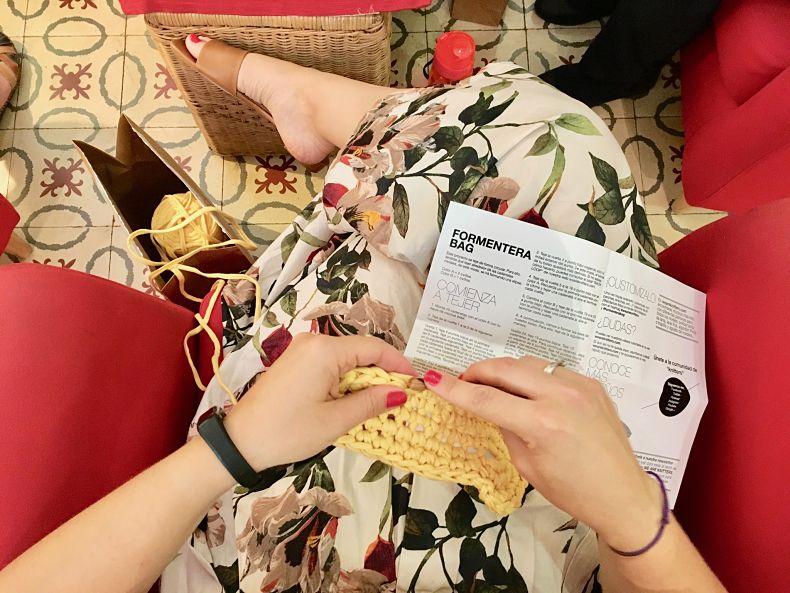 PUNTXET Crónica de mi taller de ganchillo para tejer prendas de verano