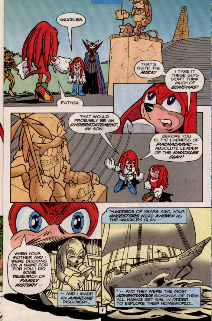 Read online Sonic The Hedgehog comic -  Issue #84 - 22