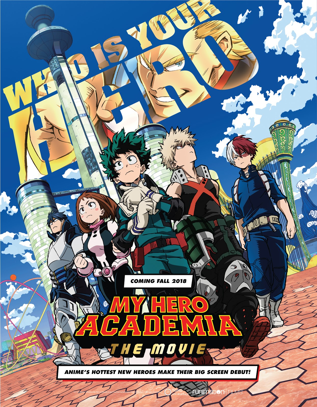 My Hero Academia THE MOVIE: Futari no Hero