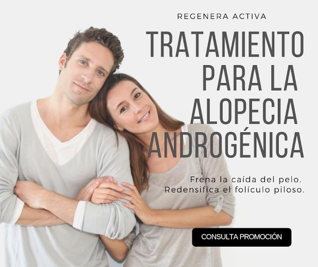 Regeneración Celular, para el tratamiento entre otras patologías, de la alopecia androgénica tanto de hombres como de mujeres