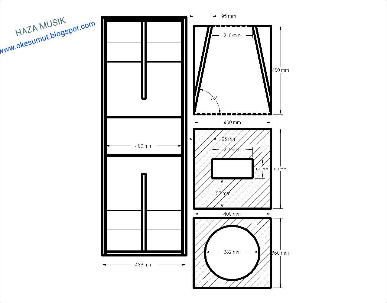 Box Subwoofer Rumahan 12 Home Subwoofer