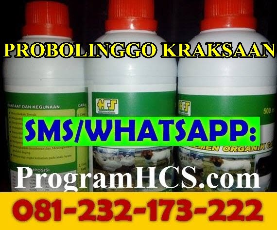 Jual SOC HCS Probolinggo Kraksaan