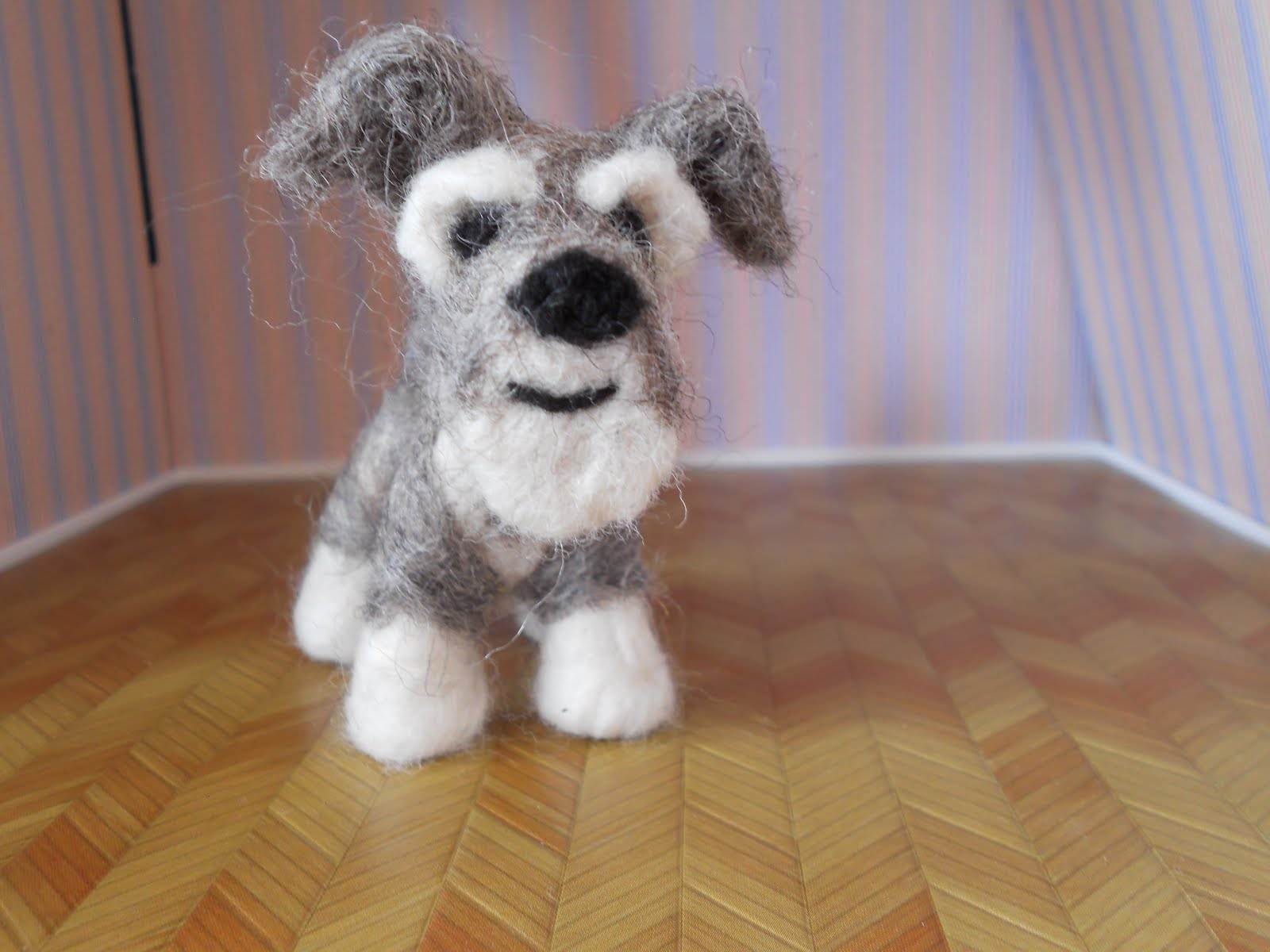 Miniature Toy Dogs : Ben mcfuzzylugs a z needle felted dog breeds miniature