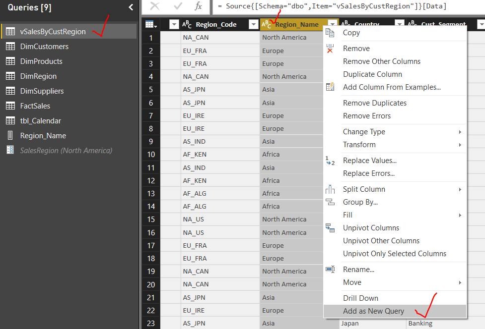 How to create and use Dynamic Query Parameters in Power BI