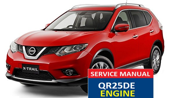 Nissan X-Trail T30 APEC export version service manual QR25DE ENGINE