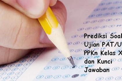 Prediksi Soal Ujian PAT/UKK PPKn Kelas X dan Kunci Jawaban