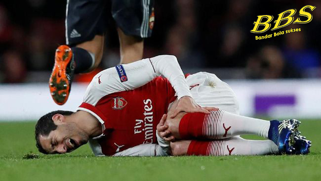 Henrikh Mkhitaryan Injury