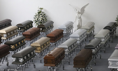 photos: Caskets Containing Remains Of Brazilian Footballers Killed In Plane Crash