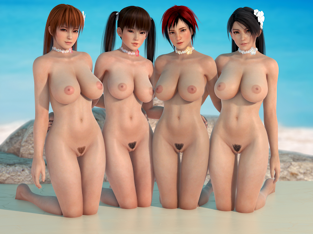 Dead or Alive 3D nude