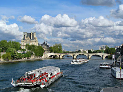 Paris Seine River Banks