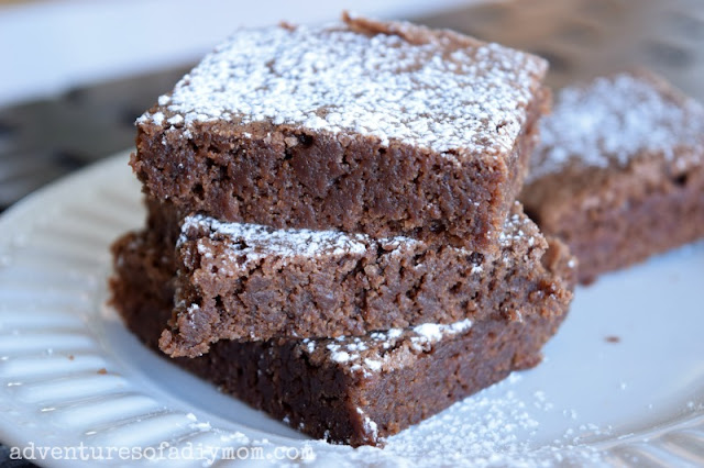 Easy One - Bowl Brownies Recipe