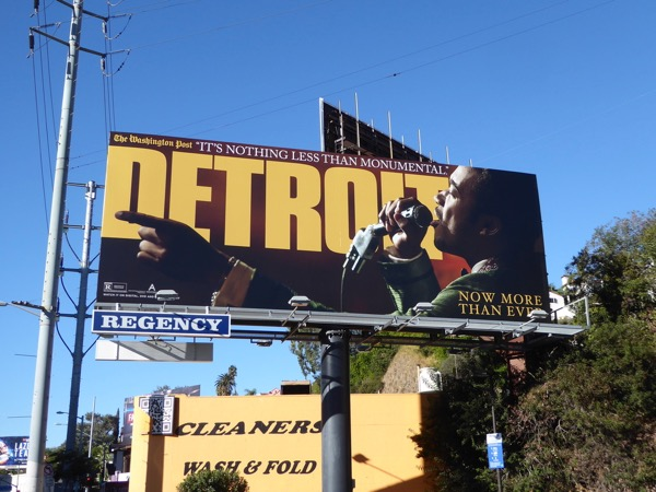 Detroit awards consideration billboard