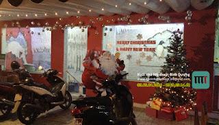 Trang trí sự kiện noel giáng sinh quán cafe rẻ đẹp bình dương