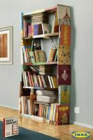 la reines blog regal aus b chern billy von ikea mal anders. Black Bedroom Furniture Sets. Home Design Ideas