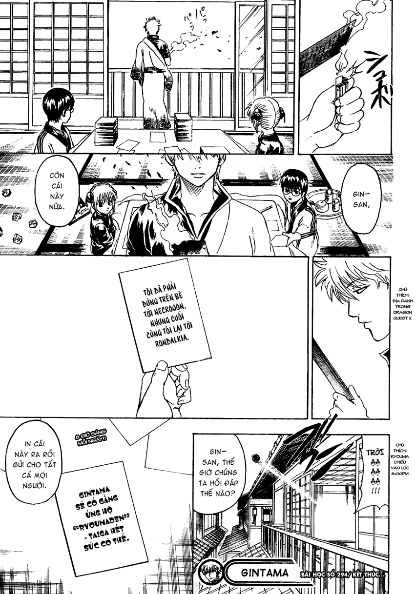 Gintama Chap 294 page 20 - Truyentranhaz.net