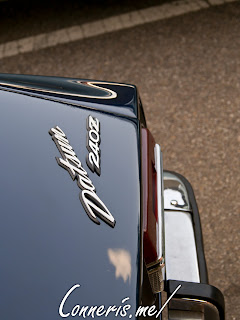 Datsun 240Z rear badges