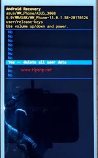 Hard Reset Asus Zenfone Max ZC520TL 4G Dengan Mudah