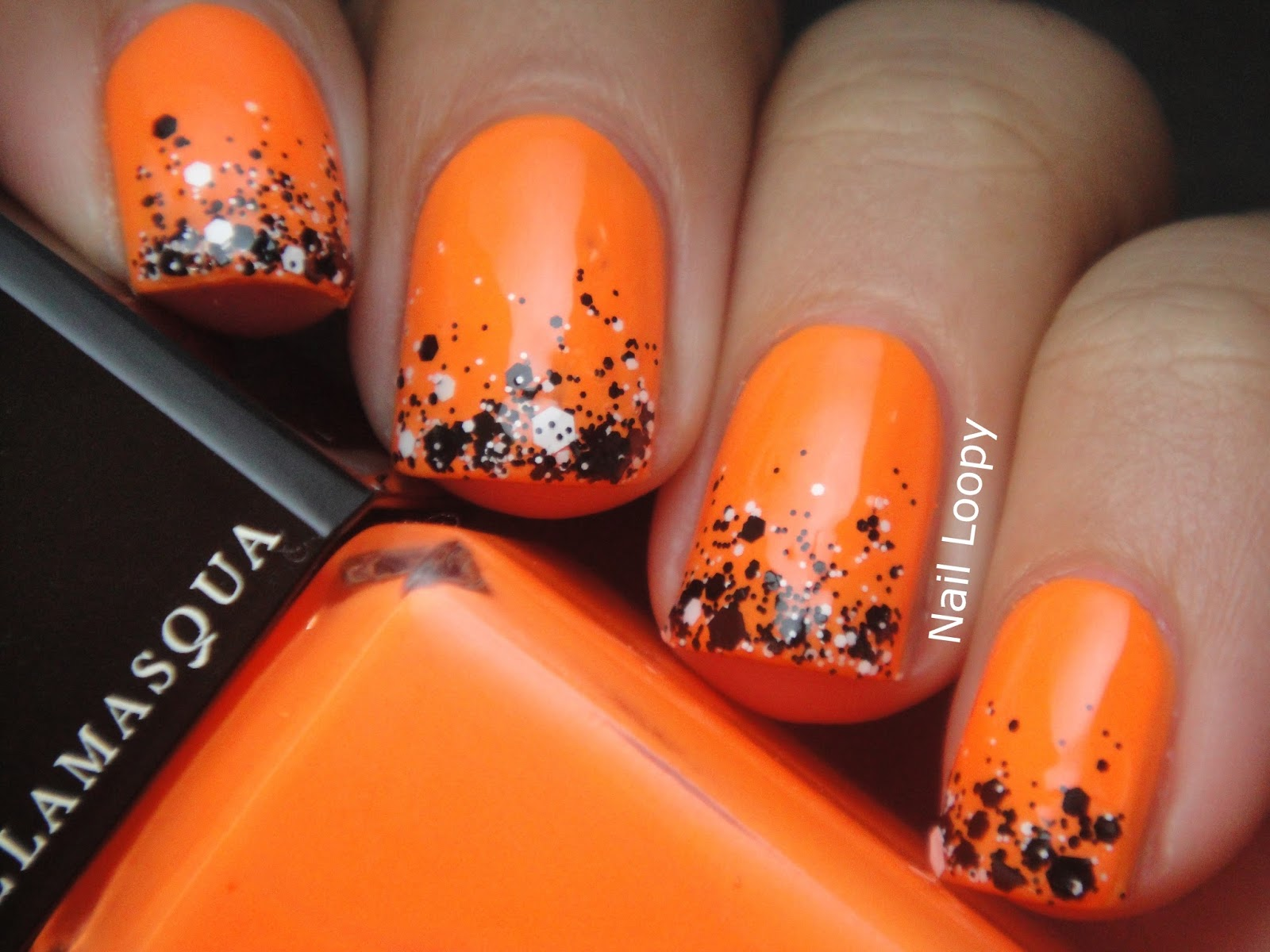 pedicure ideas for october nail loopy illamasqua gamma ...
