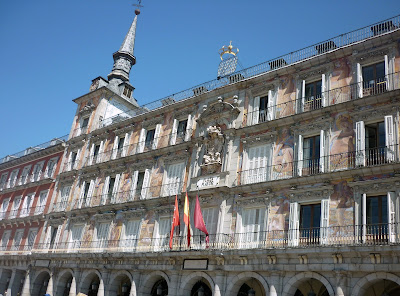 The Plaza Mayor in Madrid by Igor L.