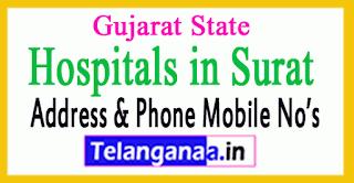Hospitals in Surat Gujarat