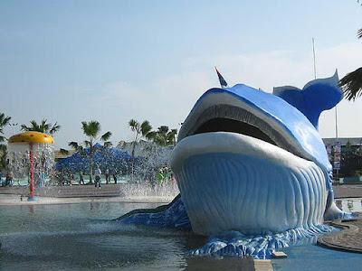 Wisata air Gerbang Mas Bahari Waterpark