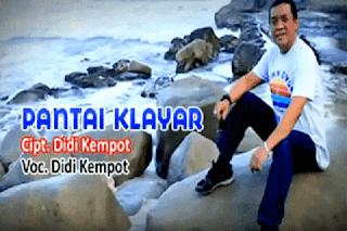 Lirik Lagu Pantai Klayar - Didi Kempot