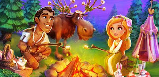 Go camping with Rafael and Yvette in CastleVille Legends