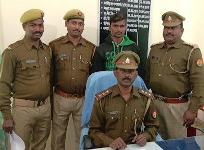 Absconding Accuse Arrested By Amethi Police Uttar Pradesh