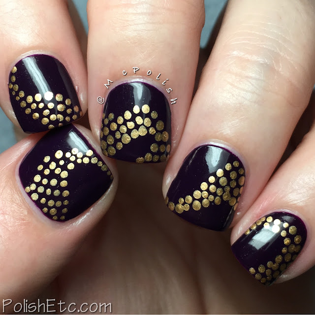 Polka Dot Nails for the #31DC2016Weekly - McPolish