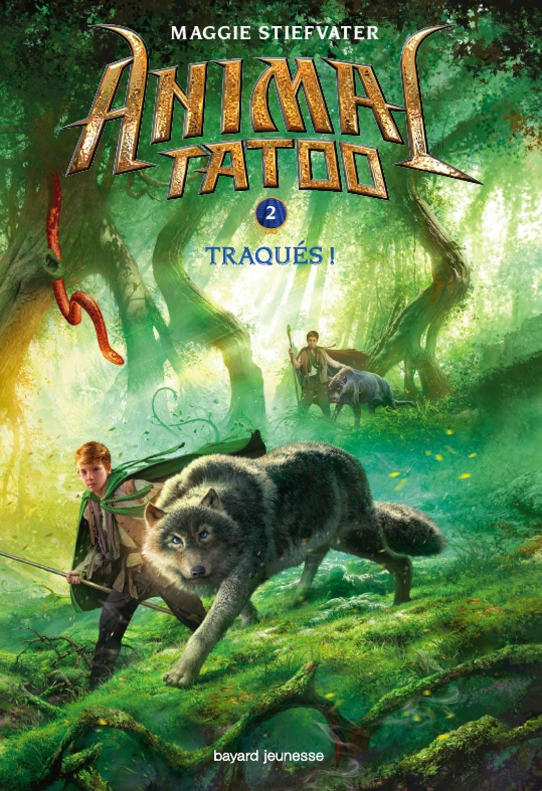 livres et lumi u00e8re  animal tatoo  tome 2   traqu u00e9s
