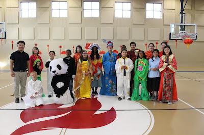 Montgomery Catholic Holy Spirit Students Celebrate Chinese New Year 3