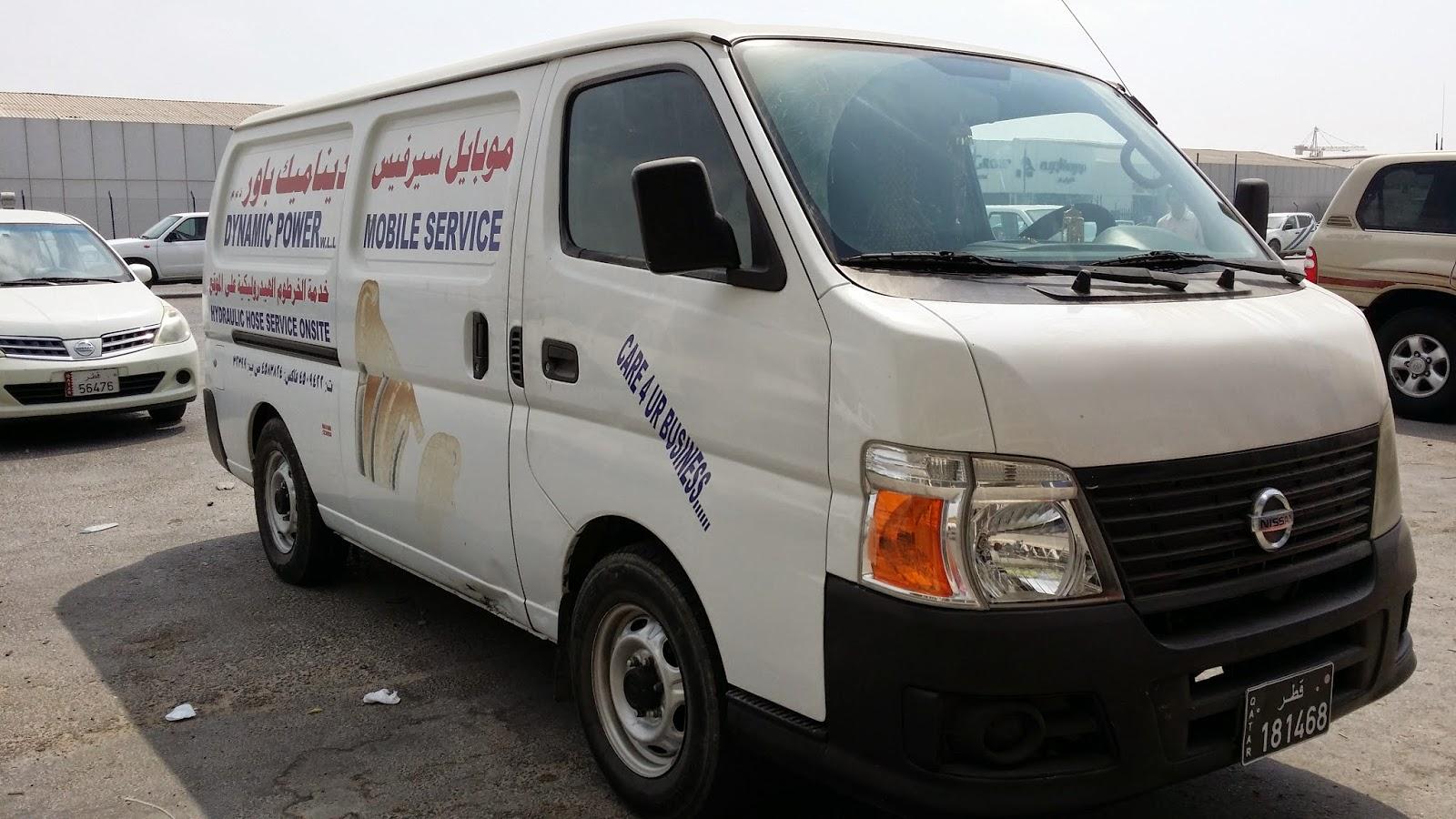 Mobile (Van) Hydraulic Hose Services in Qatar - Dynamic ...