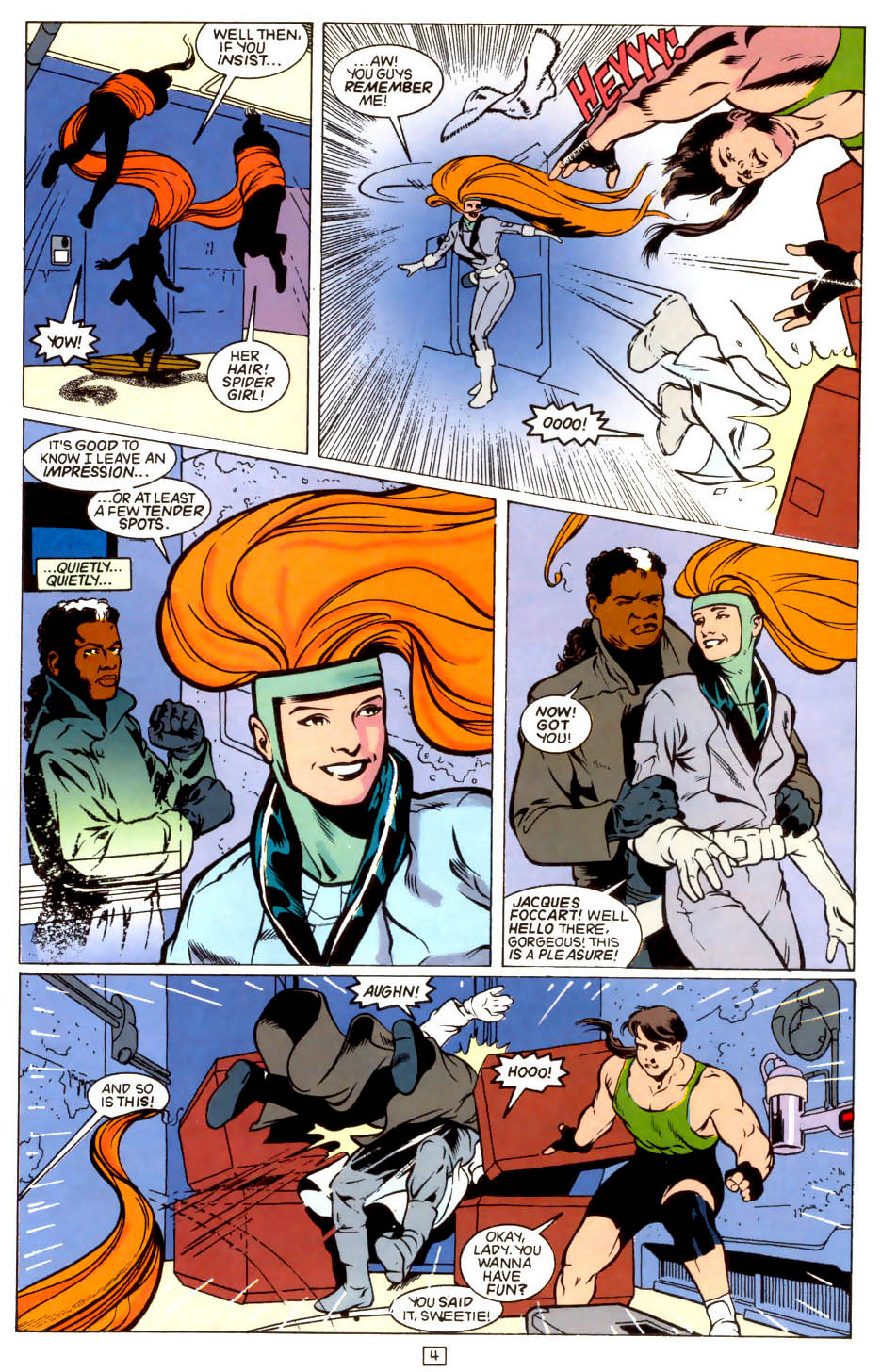 Legion of Super-Heroes (1989) 43 Page 4