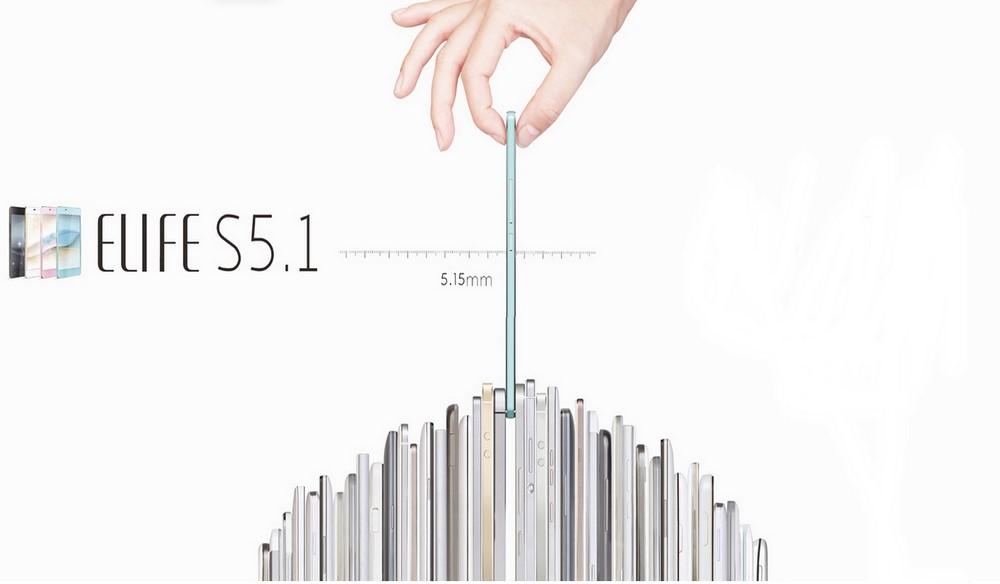 Dünyanın En İnce Telefonu Gionee Elife S5.1