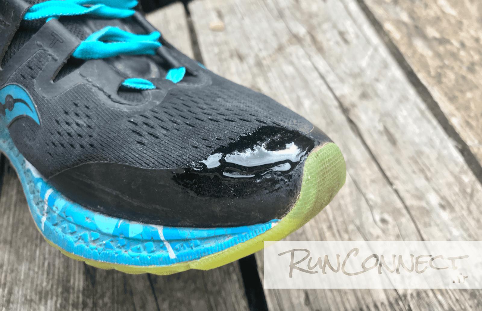 Avec Chaussure Comment Le Trou Grip Running De Réparer Seam D'une bgvYf76y