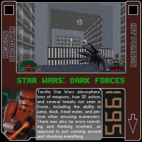 1995 - Star Wars: Dark Forces