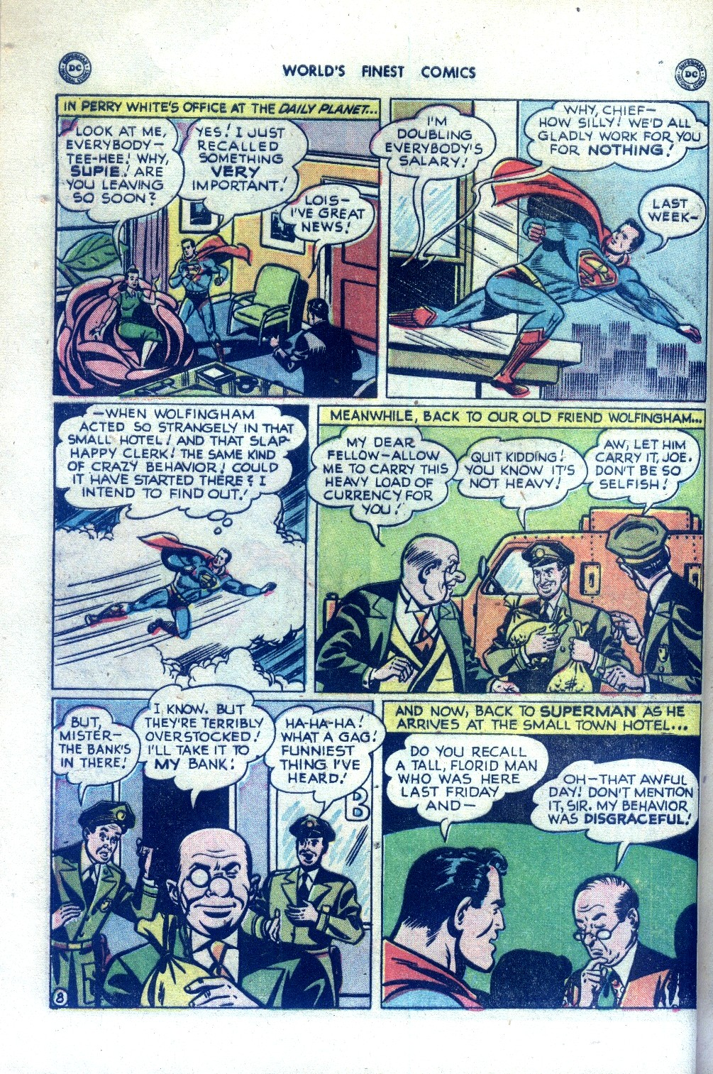 Read online World's Finest Comics comic -  Issue #43 - 10