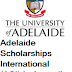 Adelaide Scholarships International (ASI) in Australia, 2018
