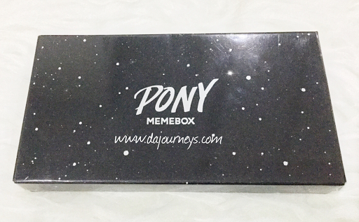 [Pony X Memebox] Shine Easy Glam Eyeshadow Palette