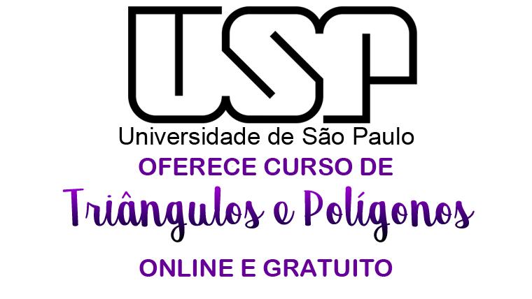USP oferece curso online e gratuito sobre Triângulos e Polígonos