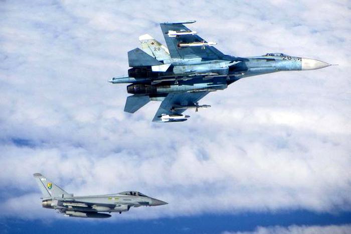 Jet tempur Rusia VS Amerika