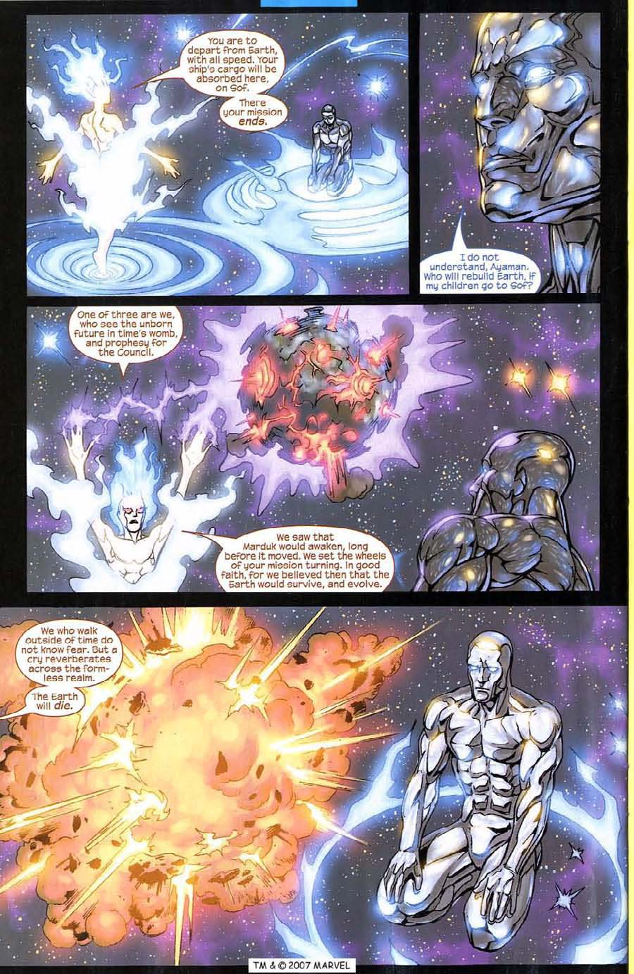 Read online Silver Surfer (2003) comic -  Issue #8 - 26