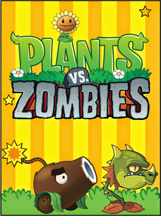 Plantas vs zombies im genes tarjetas o invitaciones para - Etiquetas para plantas ...