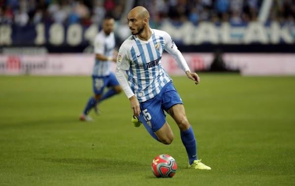 Málaga, Mikel Villanueva es el internacional con más minutos