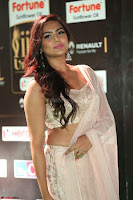 Prajna Actress in backless Cream Choli and transparent saree at IIFA Utsavam Awards 2017 0054.JPG
