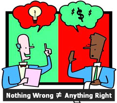 "image - ""nothing wrong"" may not be ""anything right"""