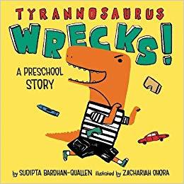 tyrannosaurus Wrecks book