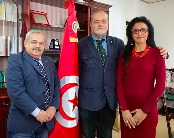 Macroregione del Mediterraneo Occidentale: Lettera di ringraziamento di Paolo Pantani al Console Generale di Tunisia a Napoli